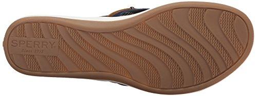 044214986989 - Sperry Top-Sider Women's Seabrook Wave Fisherman Sandal, Navy/Tan, 7 M US carousel main 2