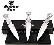 "Snake Eye Tactical 7.5"" 3pc Throwing Knife Set w/Nylon S"