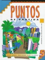Puntos de Partida : An Invitation to Spanish (5th ed)