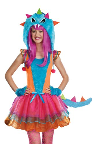 Furocious Creature Teen Costumes - Sugar Sugar Juniors Faux Fur-ocious Creature,