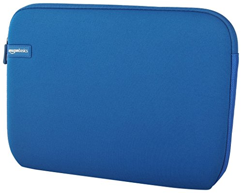 Notebook Sleeve Top Loading (AmazonBasics 11.6-Inch Laptop Sleeve - Blue)