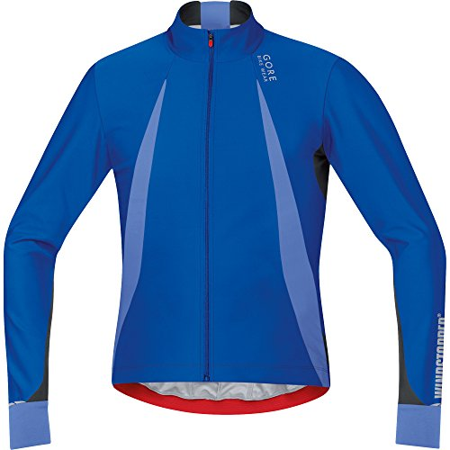 - Gore Bike WEAR, Men´s, Cyclist Jersey, Long Sleeves, Warm, Gore Windstopper, Oxygen, Size L, Blue, SWOXLM