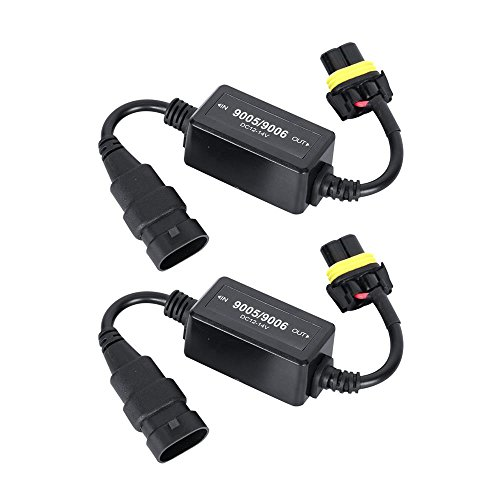 Auxbeam 9005/9006 LED Conversion Set of 2 Error Free Wiring Harness Adapter ()