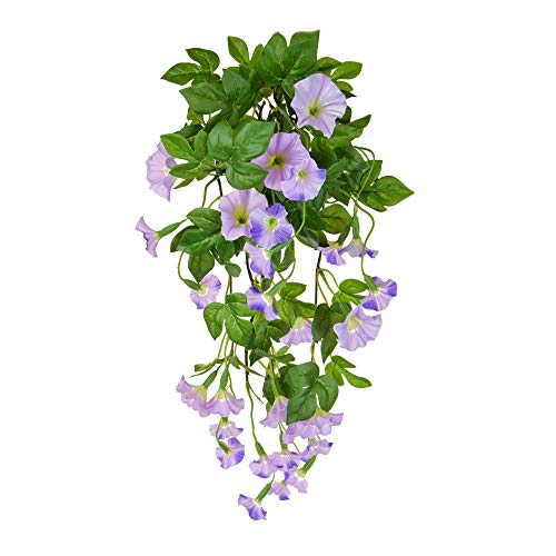 Floristrywarehouse Petunia Bush Artificial Silk Long Trailing 32 Inch Purple ()
