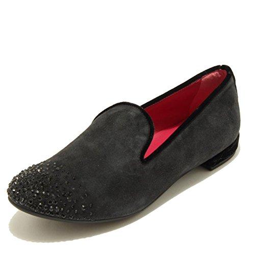 grigio women 181 8 UNO ballerina grigia scuro scarpa donna MELROSE shoes UNO 3283G aqFPvT