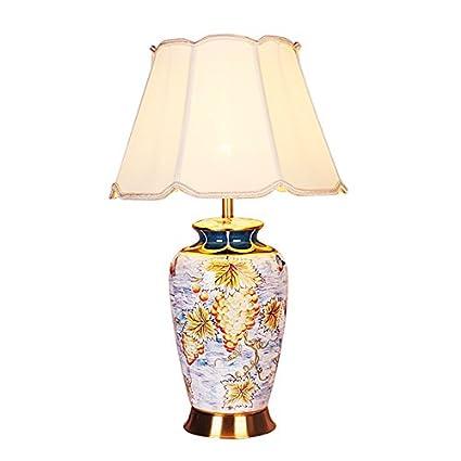 Table lamp Lámpara de Mesa de cerámica, salón Dormitorio ...