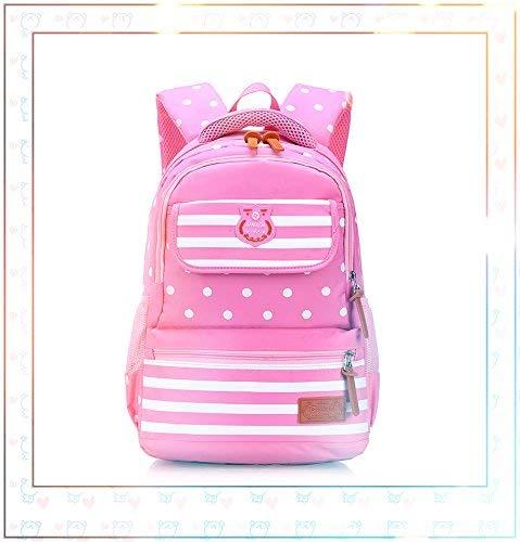 OIBHFO Home Persönlichkeit Rucksäcke Kreative Cartoon Kinder Schultasche Oxford Stoff Rucksack (Farbe   Rosa)