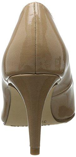 Imprimé 22447 EU Nude 36 Patent Beige Femme Escarpins Noir 253 Tamaris atcqHUwa