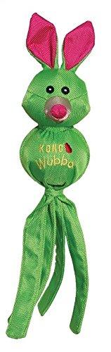 KONG Wubba Ballistic Friends, Small Dog Toy, Green