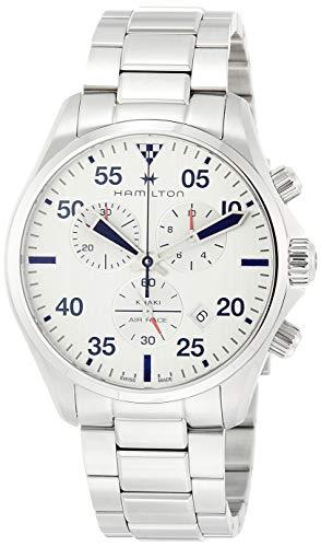 ساعت مچی مردانه همیلتون مدل H76712151 با بدنه استیل