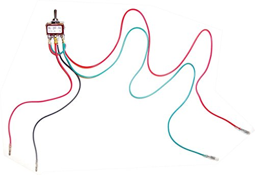 (Makermotor SWDPDT10A - Pre-Wired DPDT Toggle Switch for Reverse Forward Functions)