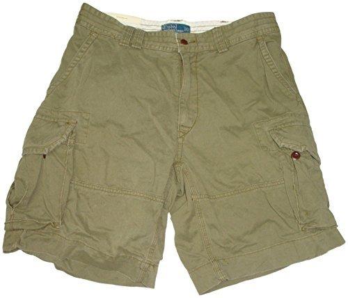 Ralph Lauren Woven Jeans - Polo Ralph Lauren Mens Gellar Fatigue Cargo Shorts, Olive, 29