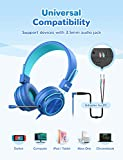 iClever HS21 Kids Headphones with Microphone for