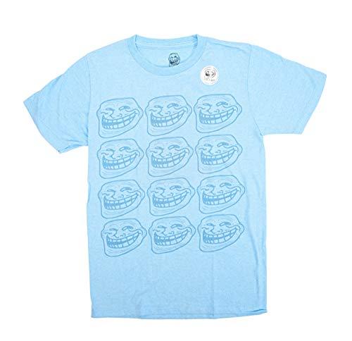 Hommes Neon Pour Classics American Bruyère T Des Troll You Bleu shirt Hitting Mad Repeat Face Xl AxUwzqg