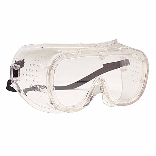 440 Basic-DV Direct Vent Goggles, Clear/Clear (100 Pack)