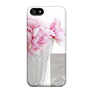 New Arrival Premium 5/5s Case Cover For Iphone (pink White)
