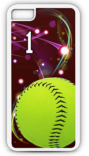 iPhone 7 Plus 7+ Phone Case Softball S042Z by TYD Designs in