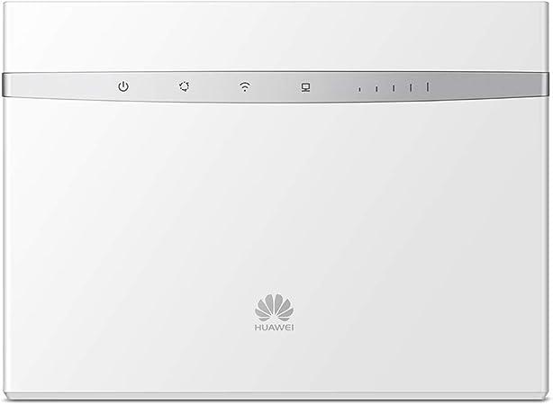 Huawei B525 - Router Wi-Fi 4G LTE (300Mbps de conexión inalámbrica, Wi-Fi Hotspot móvil con 3 Antenas, Banda Dual 2.4G&5G, tecnología MIMO, Tarjeta ...