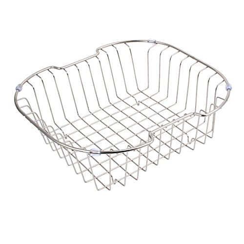 uxcell Kitchen Rack Drainer Storage Holder Stand Sink Caddy 32cmx29cmx10cm by uxcell