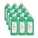 Amazon Brand - Solimo 70% Isopropyl Alcohol First Aid Antiseptic with Wintergreen, 16 Fluid Ounce (Pack of 12)