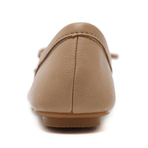 uk Confort 5 Ocio Nueva eur39uk665 Soft Zapatos Artificial 38 Bottom 5 Bombas Señoras Arco Negro Cabeza Sencillas Nvxie Eur Ronda Pu Primavera Pink Boca Flats Trabajo Rosa Rasa Mujeres Otoño wqItC4