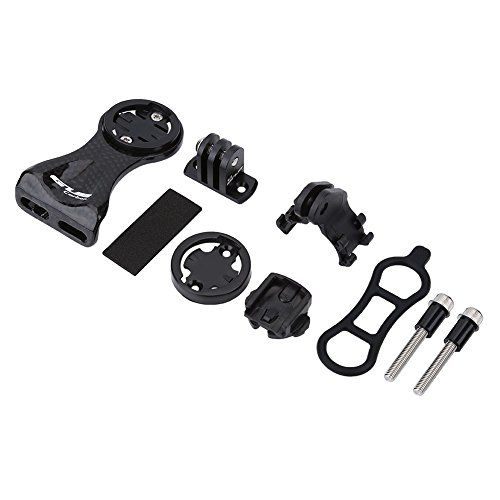 Alomejor Extension Mount Holder Bike Computer Out-Front Mount Bicycle Stem Extension Mount Holder for Outdoor Cycling