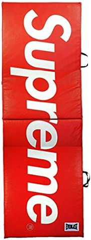 SUPREME シュプリーム ×Everlast Folding 17AW Exercise Mat マット 赤 フリー 並行輸入品