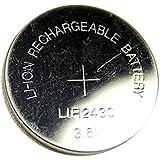 1 Pile Bouton CR2430 Li-ion Rechargeable 3.6V Lir2430