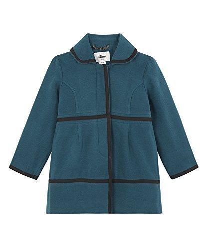 Sarcelle 7-8 Ans Mimi London - Filles LAINE HIVER touché tressé détail bord élégant hommeteau