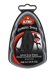 Kiwi Express Shine Black Sponge, 0.2 US fl. oz. (Pack of 3)