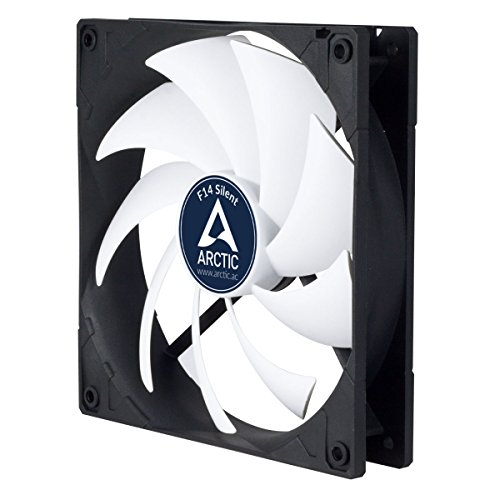 Arctic F14 Silent - Ultra-Quiet 140 mm Case Fan | Silent Cooler with Standard Case | Almost inaudible | Push- or Pull Configuration Possible by ARCTIC (Image #7)