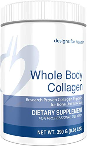 Designs for Health - Whole Body Collagen - Pure Collagen Peptides, 390 Grams