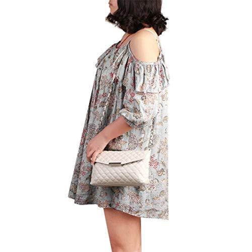 de bolso cuero de bolso de la Clásico hombro manera bolso de PU de mujeres bolso Crossbody de de embrague bolso pequeño la de las pequeño Delicacydex mensajero cadena de BwTqaOT