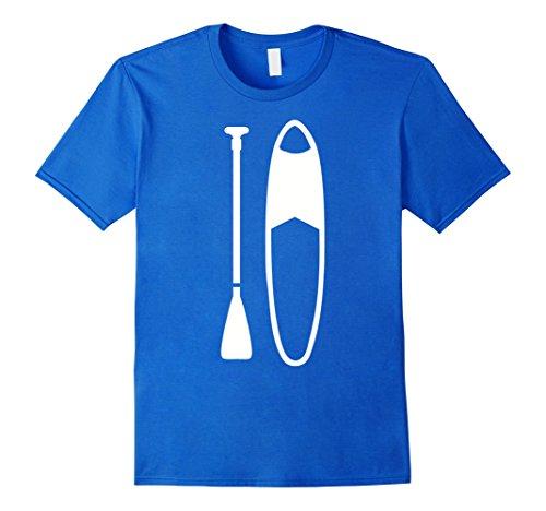 Mens Stand up paddling surfboard T-Shirt Large Royal - Shop Surf Blue Planet