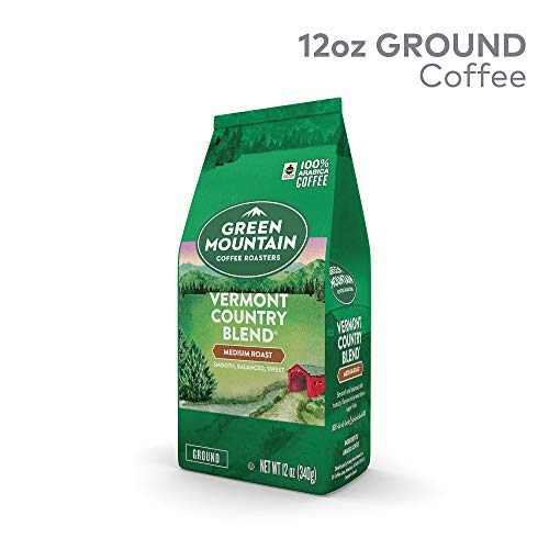 - Green Mountain Coffee Signature Vermont Country Blend Ground Coffee 12oz