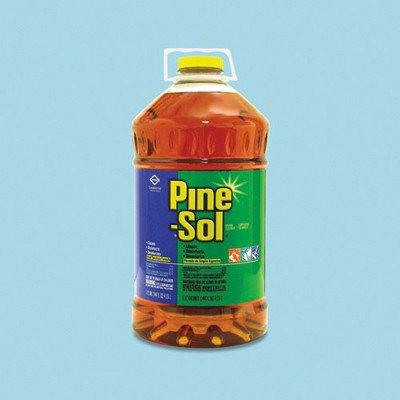 Pine-Sol 35418 144-Ounce Pine Scent Liquid Cleaner Disinfectant/Deodorizer (3 per Case)