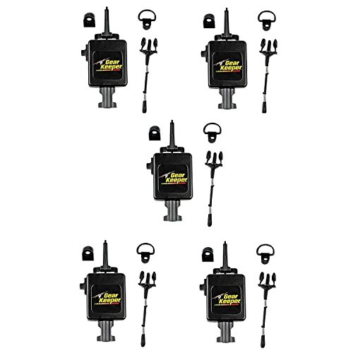 LOT OF 5 Gear Keeper RT3-4112 Heavy Duty Retractable CB Radio Microphone Hanger by Gear Keeper