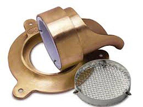 Rectorseal 82745 Glue On Nozzle Escutcheon, 4''