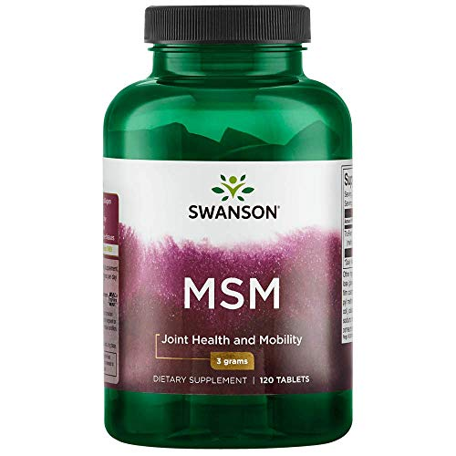 Swanson Msm 1500 Milligrams 120 Tabs