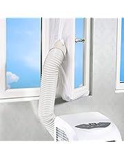 Movein Aislamiento de Ventanas para Aire Acondicionado móvil Air Lock Sellado de la Ventana para, Sello Deflector, Cierres de Ventanas para Aires acondicionados móviles y secadores.