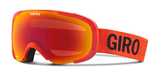 Giro Compass Snow Goggle 2016 - Men's Glowing Red Monotone with Amber Scarlet Lens by Giro