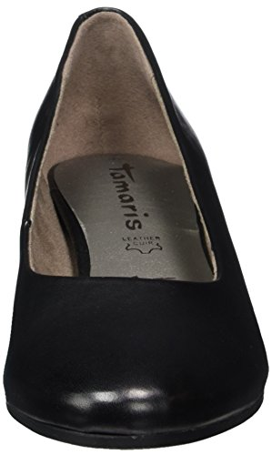 black Femme Tamaris 22303 003 Noir Escarpins Leather wFF4EI