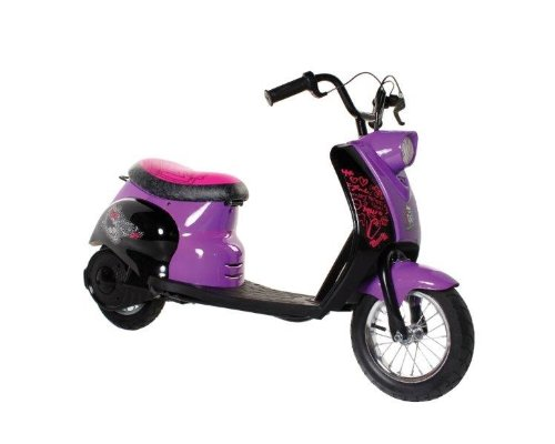 Monster High City Scooter, Black/Purple/Pink (Monster High Scooter)