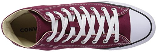 Uppers Canvas Durable Casual Classic Chuck Color Taylor top In Maroon star High Unisex Sneakers Converse Style And All 1Fag1q