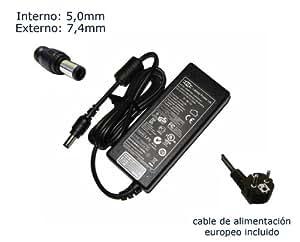 """Cargador de portátil Dell Latitude D520 D530 D600 D620 D630 D500 PA10 90W Alimentación, adaptador, Ordenador Portatil transformador - Marca """"Laptop Power""""® (12 meses de garantía y cable de alimentación europeo incluido)"""