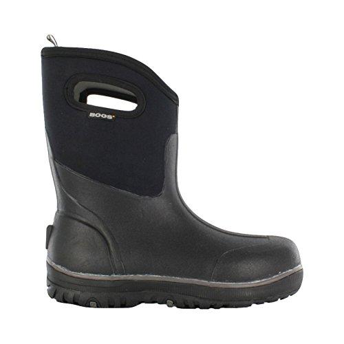 Bogs Men's Ultra Mid Waterproof Insulated Rain Boot, Black,10 M US