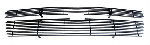 MaxMate Fits 07-14 Chevy Avalanche/Suburban/Tahoe(Not for Hybrid) Upper 2PC Bolton Black Billet Grille Grill Insert ()
