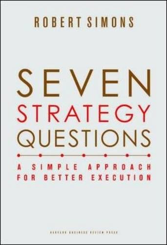 Seven Strategy Questions: A Simple Approach for Better Execution by Harvard Business School Press (Image #3)