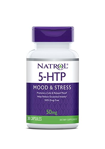 Natrol 5 HTP Capsules 50mg Count