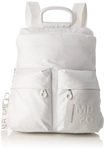 T Lux Md20 Mujer H Blanco 10x34x30 Shoppers Tracolla bolsos cm B Mandarina x hombro Lux y Duck de White H5wqEcxU